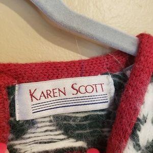 Karen Scott Sweaters - Karen Scott VINTAGE Angora Rabbit hair Blend Sweat